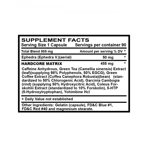 supplement-facts-stryker-hardcore